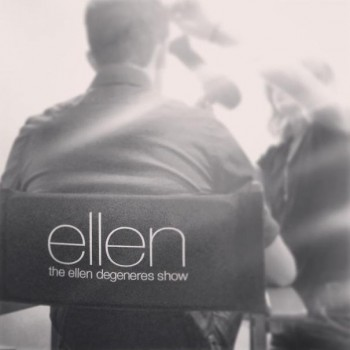 Chris Colfer Tells Ellen He'd Work for Free on What?