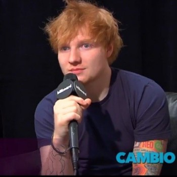 "Ed Sheeran: ""I Think I'm [Taylor's] Plus-One"" at Billboard Music Awards"