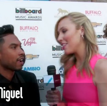 "2013 Billboard Music Awards: Miguel Says Working With Mariah Carey Was ""Unreal"""