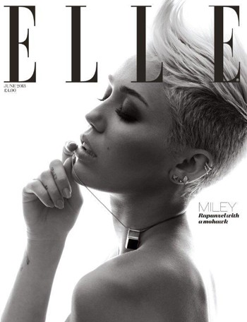 Miley Cyrus' Elle cover