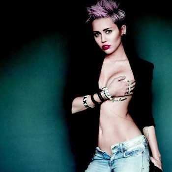 Miley Cyrus in Maxim