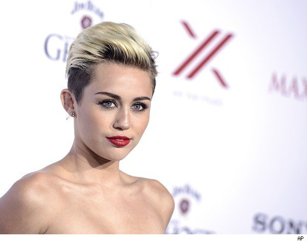 Miley Cyrus at the 'Maxim' party