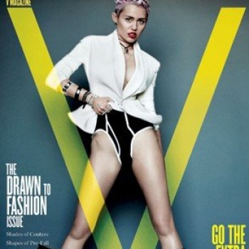 Miley Cyrus Poses Topless, Was Inspired To Cut Her Hair By The Jonas Brothers