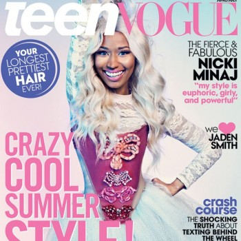 Nicki Minaj Covers 'Teen Vogue,' Says She'd Never Want to Be a Teenager Again