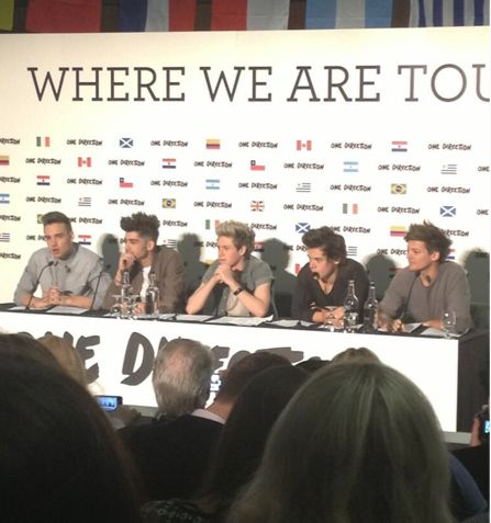 One Direction's big announcement? The 2014 Where We Are tour, with 1D