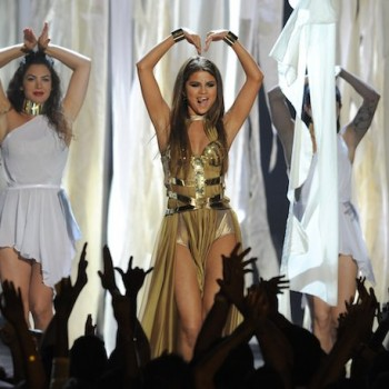 Selena Shines on Stage!