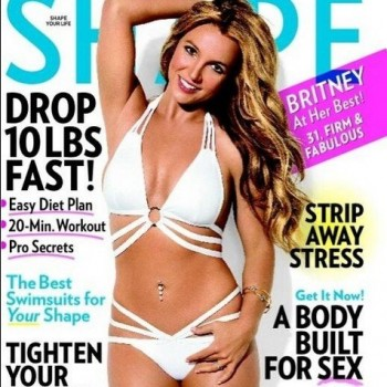 "Britney Spears Covers 'Shape' Magazine, Admits ""Dieting is Tough"""