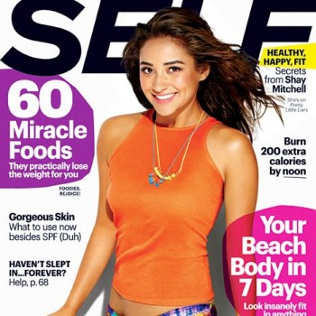 See 'Pretty Little Liars' Star Shay Mitchell's 'Self' Magazine Cover!