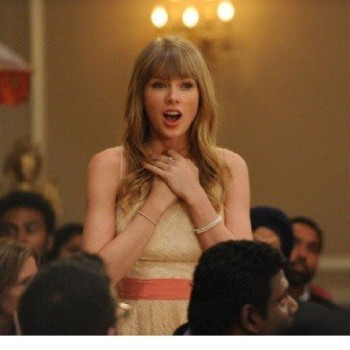 Taylor Swift Takes Off With the Groom on 'New Girl' (WATCH!)