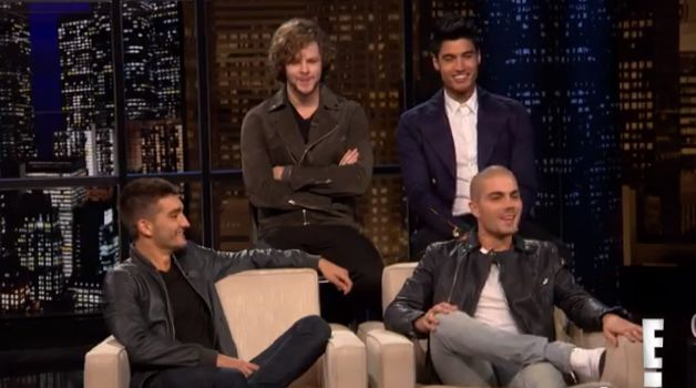 The Wanted on One Direction feud Chelsea Lately Chelsea Handler