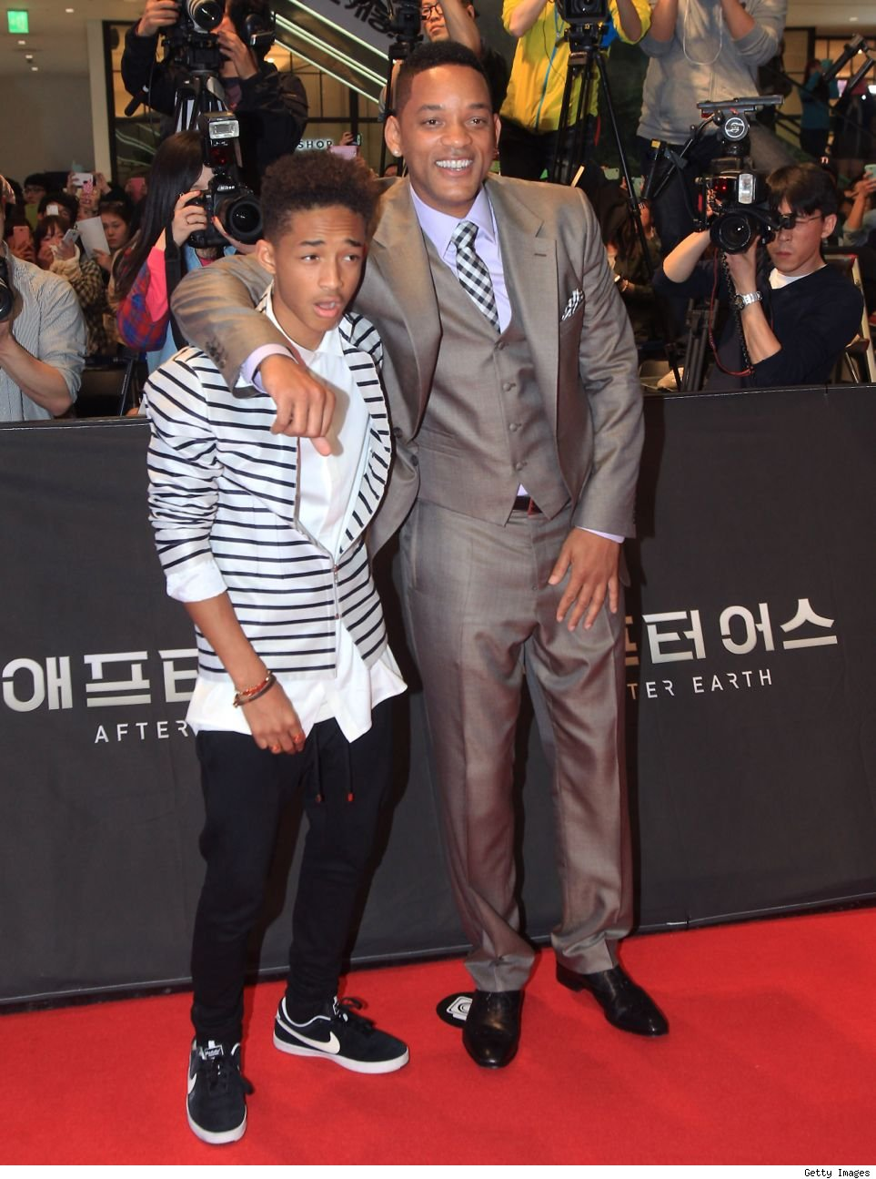 Will Smith Jaden Smith rap Fresh Prince Bel Air theme song