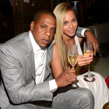 Beyonce Drinks Champagne, Shows Pics of Blue Ivy at Party