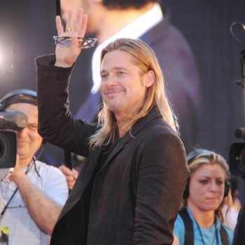 Brad Pitt Flies Solo at 'World War Z' Premiere in New York