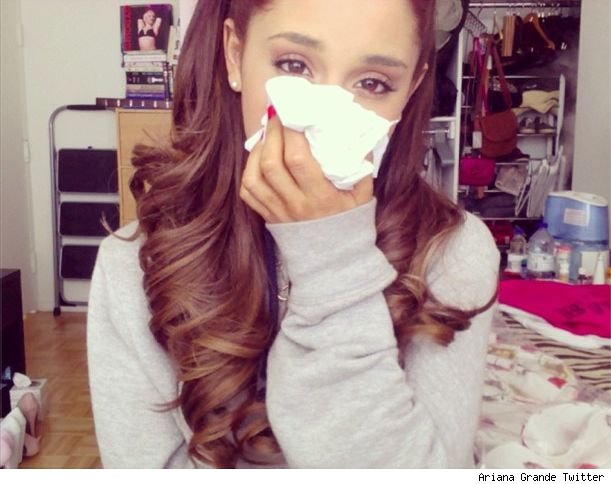 Ariana Grande sick with skull and lung infection