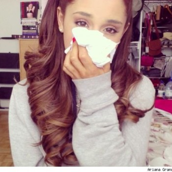 Ariana Grande Sick with Skull and Lung Infection?