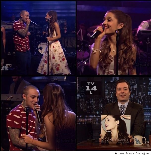Ariana Grande on Jimmy Fallon The Way video