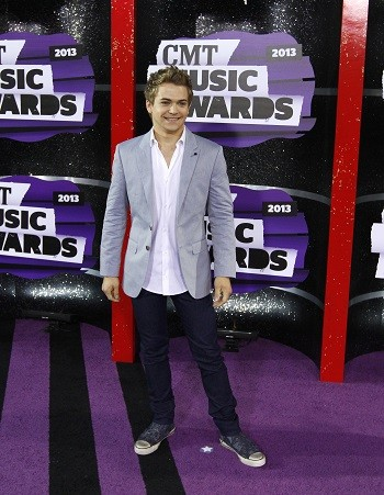 Hunter Hayes at the 2013 CMT Awards