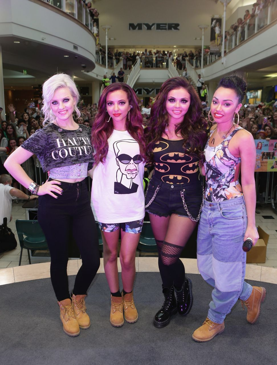 Little Mix on GMA Jesy dating Niall Horan Wings video