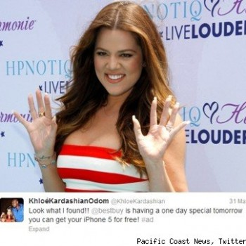 See How Much Khloe Kardashian, Snooki and Other Celebs Get Paid to Tweet