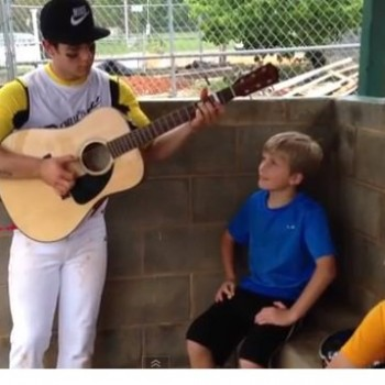 Nick Jonas and Kids Jam Session Captured in Adorable Video