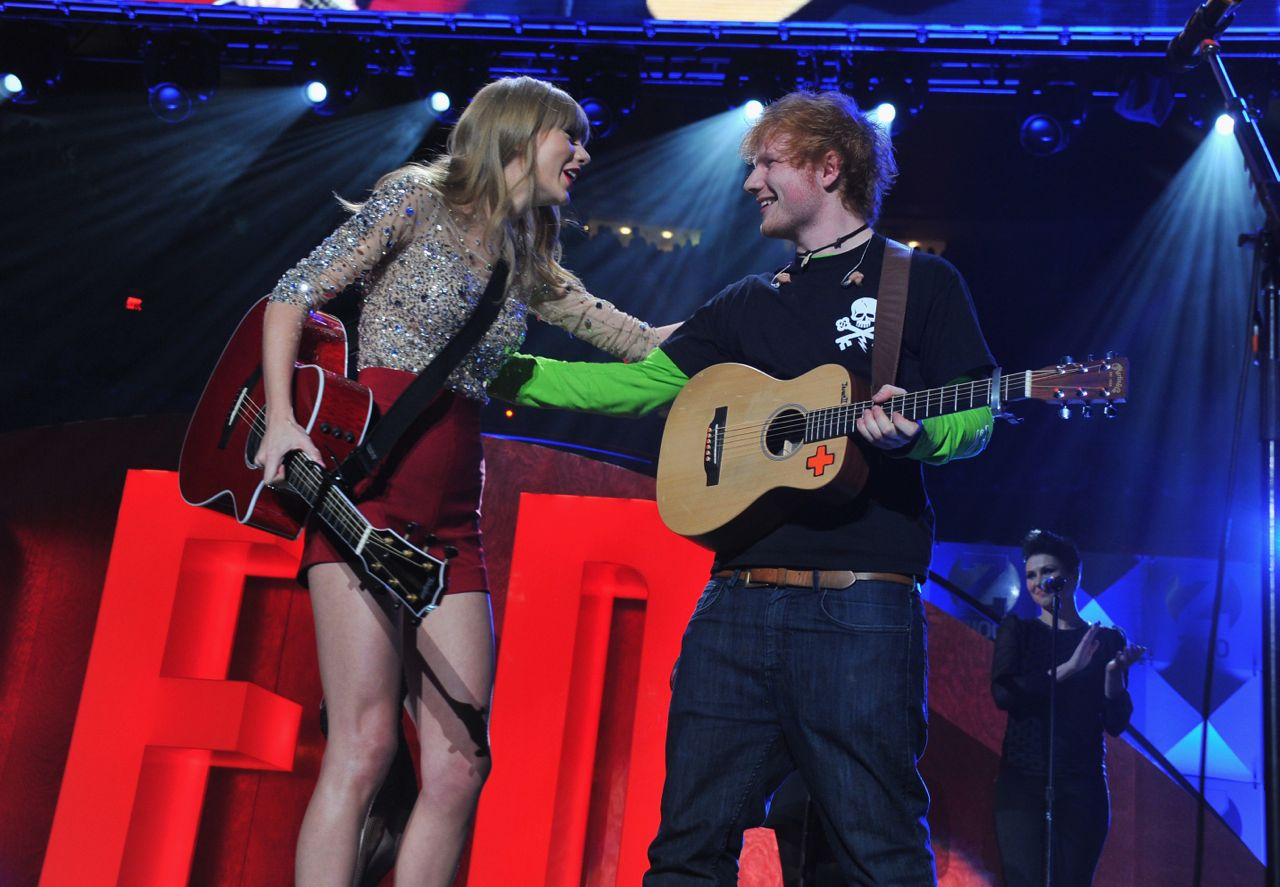 Taylor Swift Ed Sheeran Everything Has Changed music video