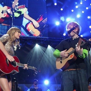 "Taylor Swift and Ed Sheeran's ""Everything Has Changed"" Artwork"