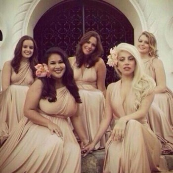 Lady Gaga Dresses Down for Friend's Wedding in Mexico