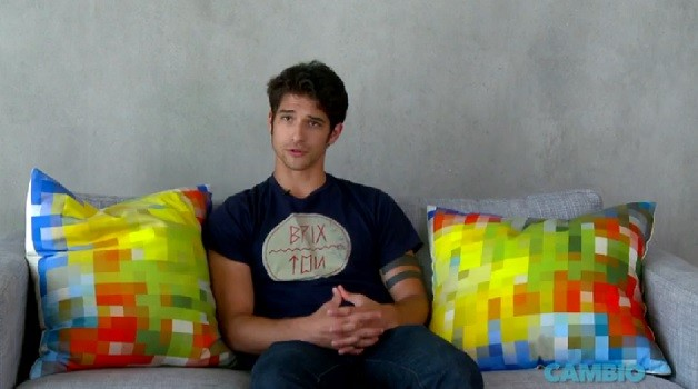 Tyler Posey from 'Teen Wolf'