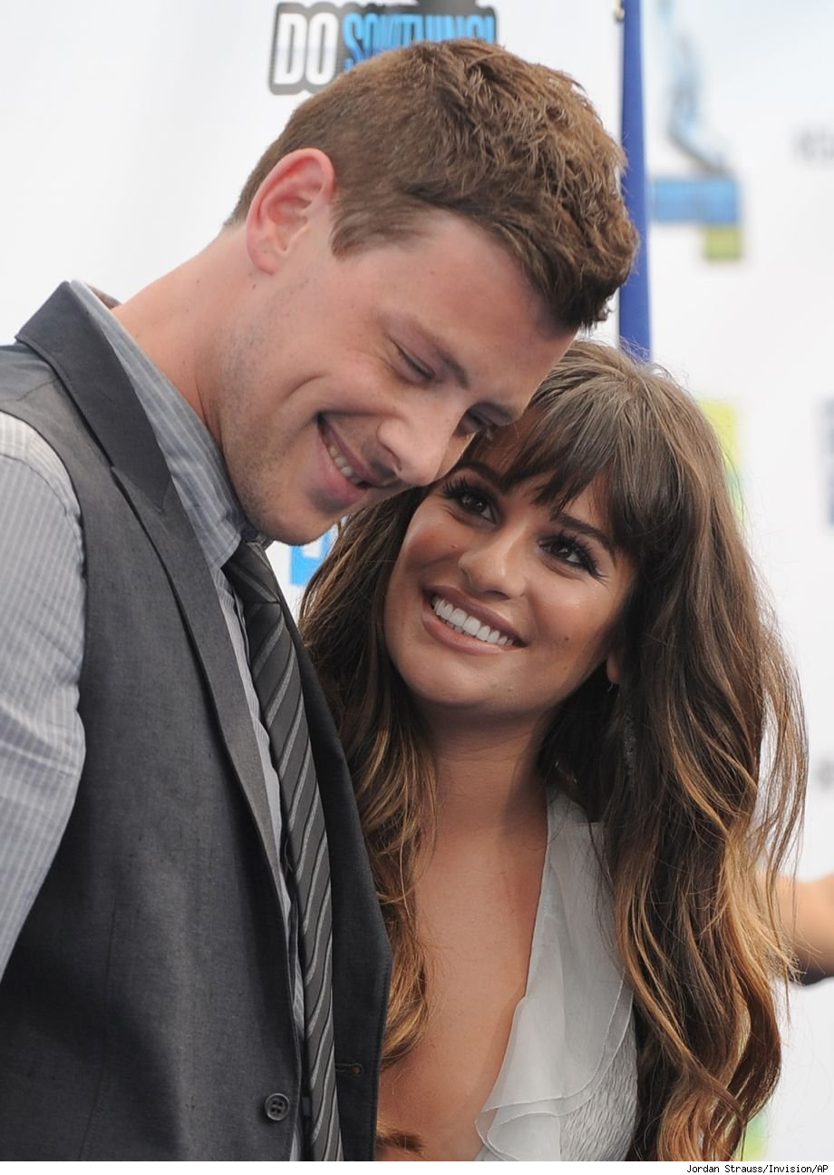How did Cory Monteith die answers happy healthy Lea Michele