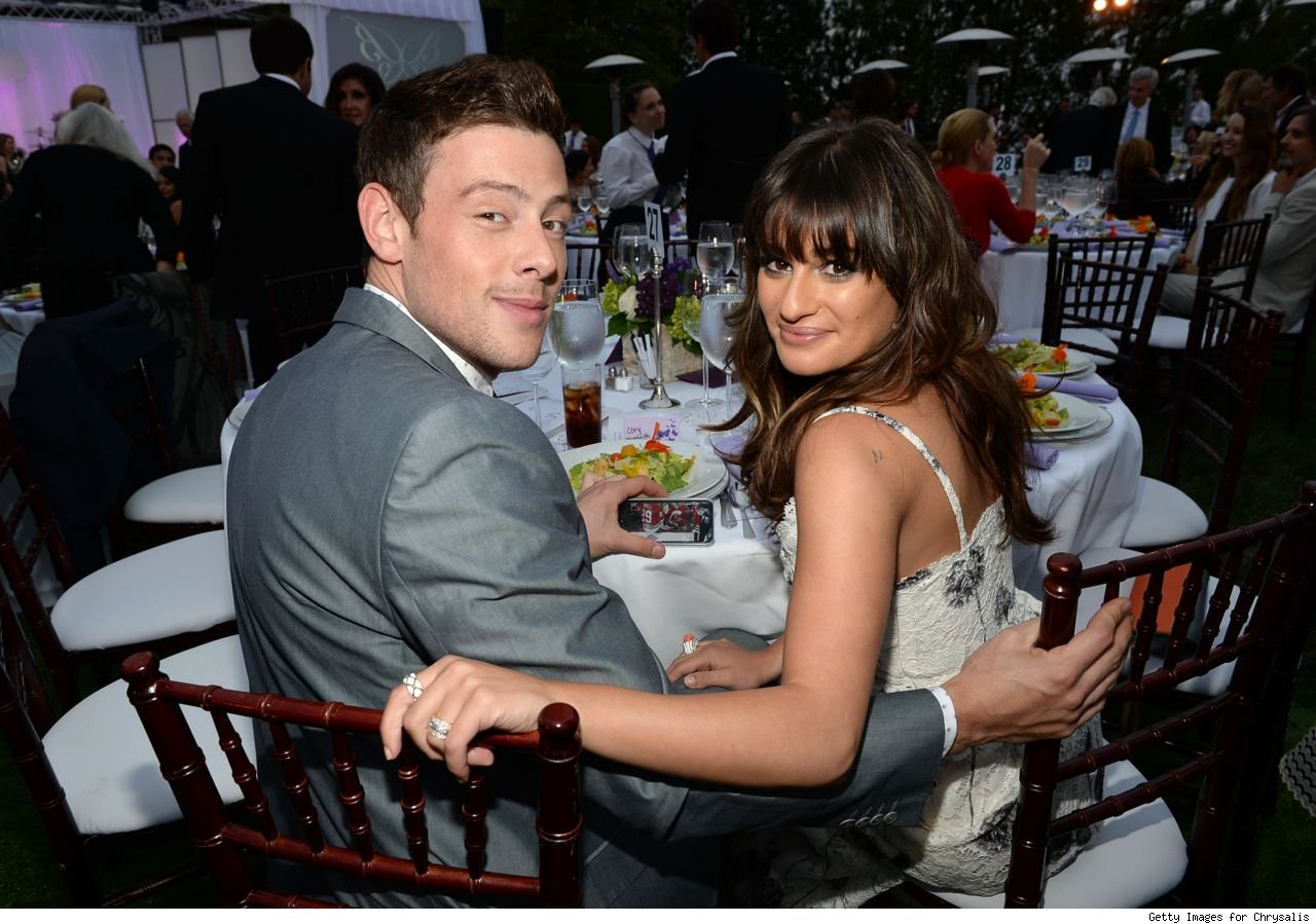Cory Monteith and Lea Michele didn't break up moving in getting married before death
