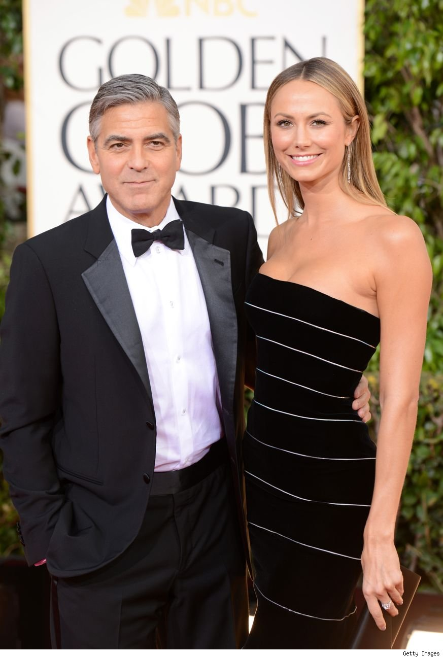 George Clooney Stacy Keibler split break up
