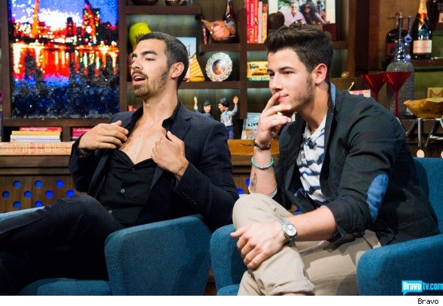 Joe Jonas ranks Demi Lovato Miley Cyrus Selena Gomez favorite WWHL video