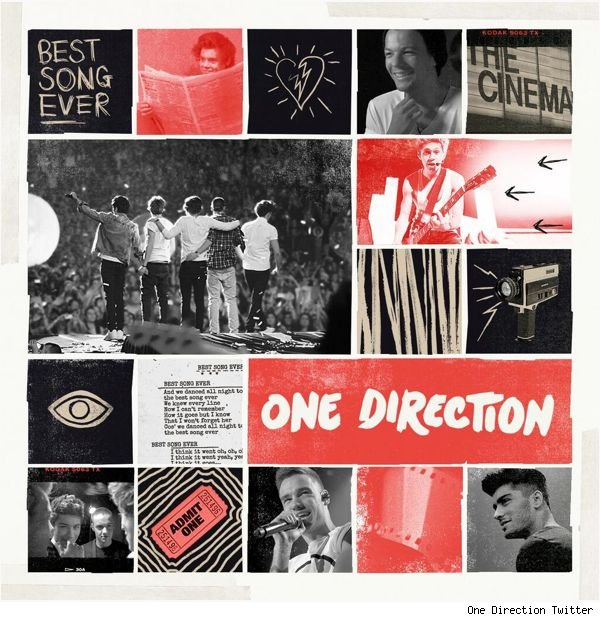 One Direction Best Song Ever cover art pic song lyrics