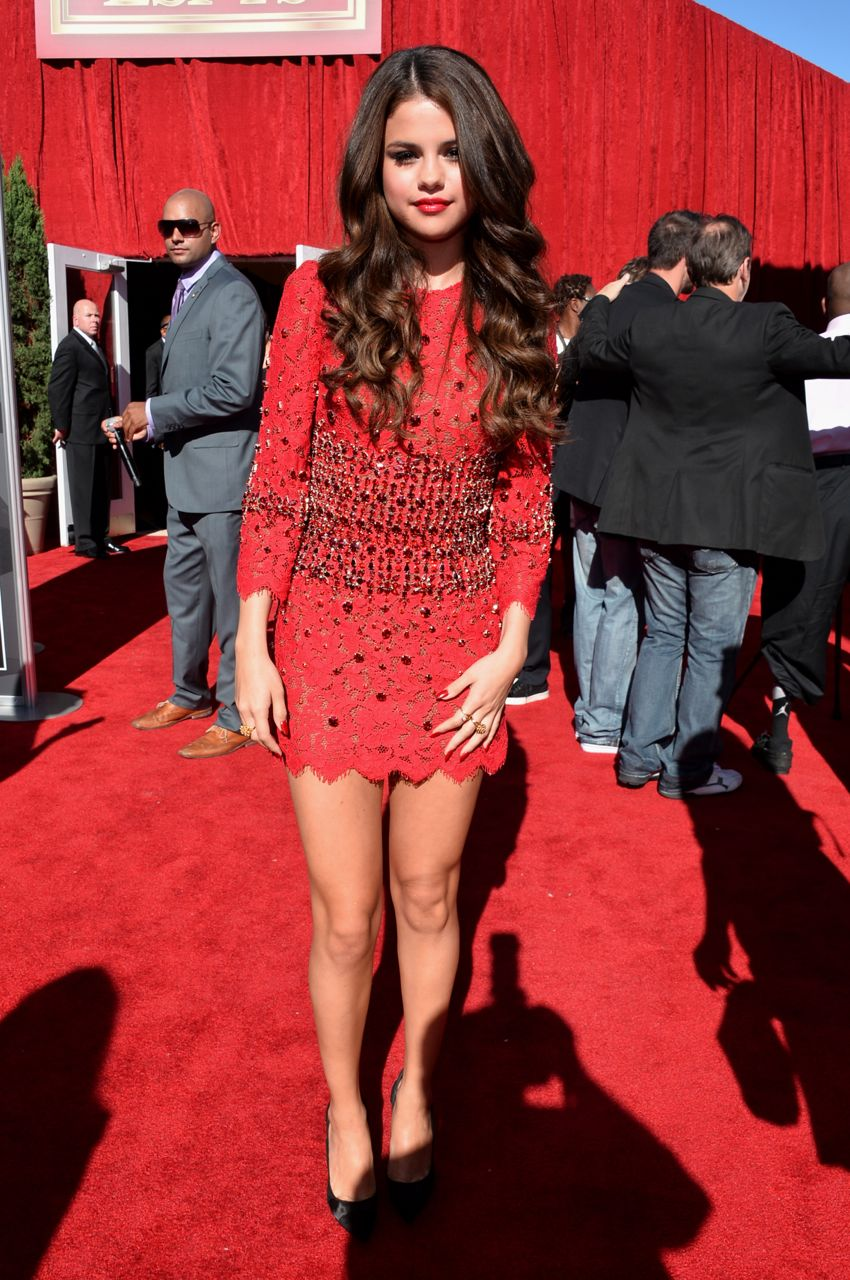 Selena Gomez Red Carpet Dresses 2013 - More information on mark url
