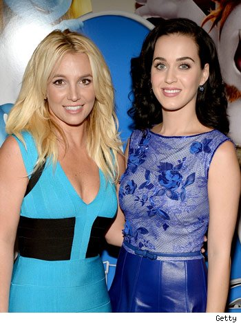 britney spears, katy perry
