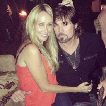 Tish Cyrus and Billy Ray Cyrus