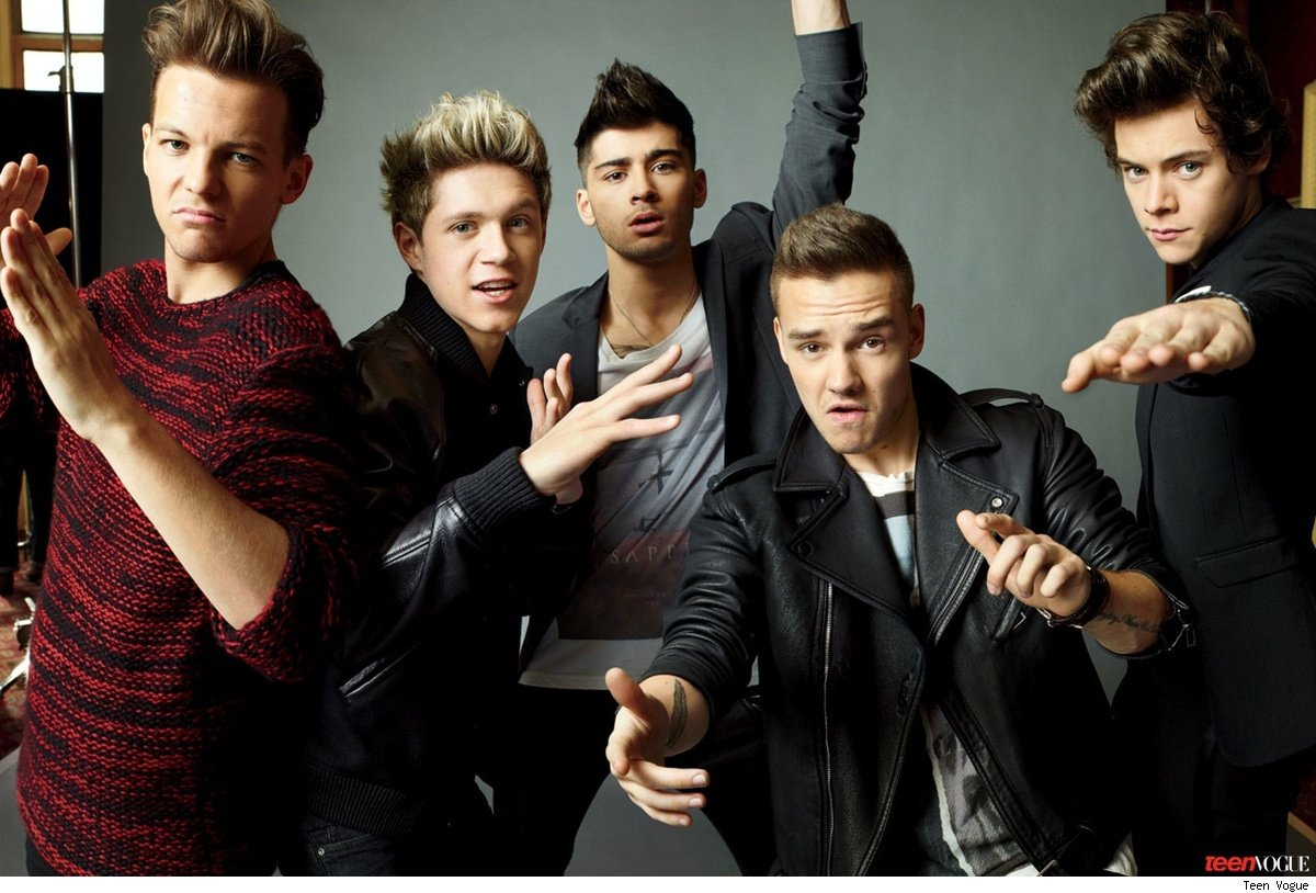 One Direction Teen Vogue dating qualities in girls