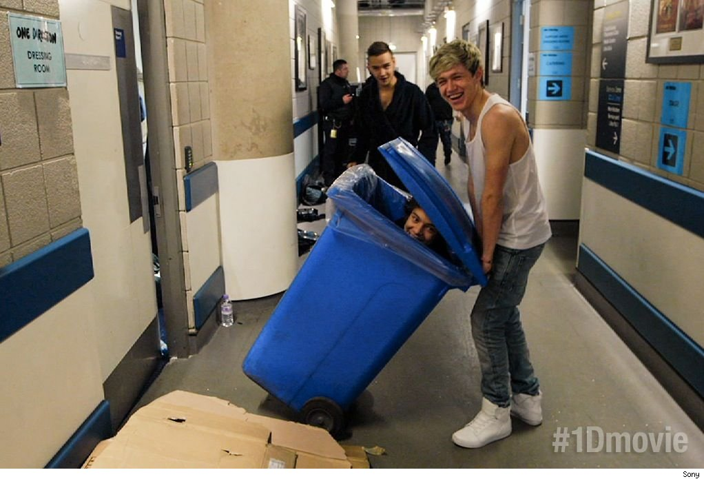 One Direction This Is Us exclusive clip video wardrobe