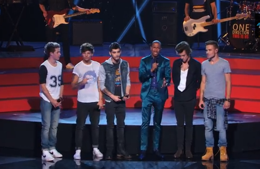 Watch One Direction on Americas Got Talent Best Song Ever video