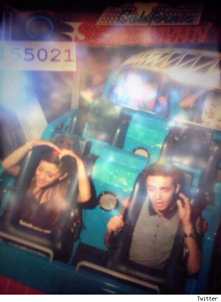 Ariana Grande and Nathan Sykes confirm dating Disneyland pics