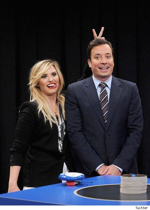 Demi Lovato on Jimmy Fallon Catchphrase September 4 2013