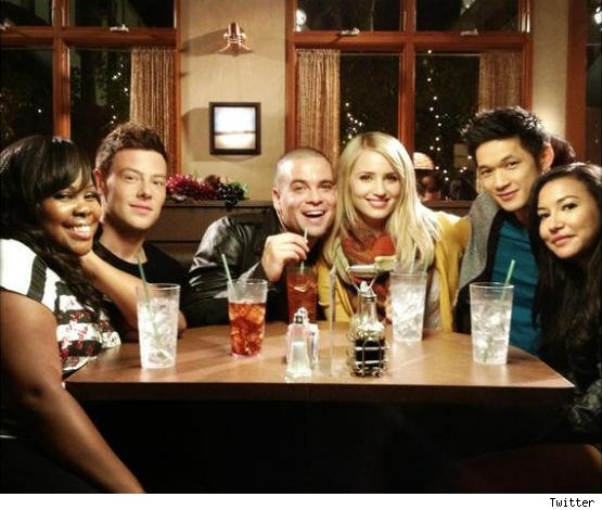 Glee Dianna Agron not on Cory Monteith tribute episode