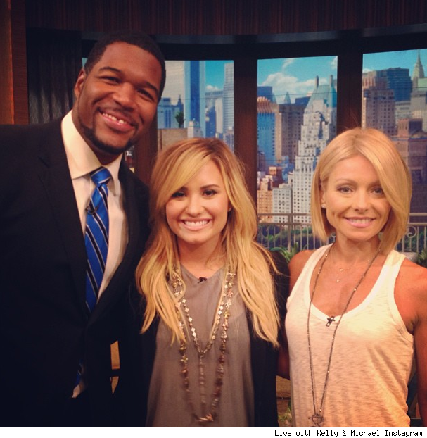 Demi Lovato on Live with Kelly and Michael video