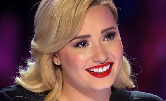 Demi Lovato emotional Lillie McCloud X Factor audition video