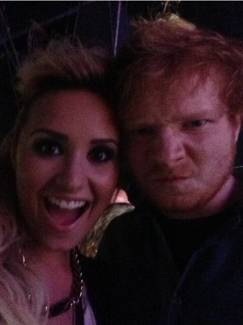Demi Lovato Ed Sheeran Paramore crushes musical influences