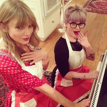 Taylor Swift and Kelly Osbourne