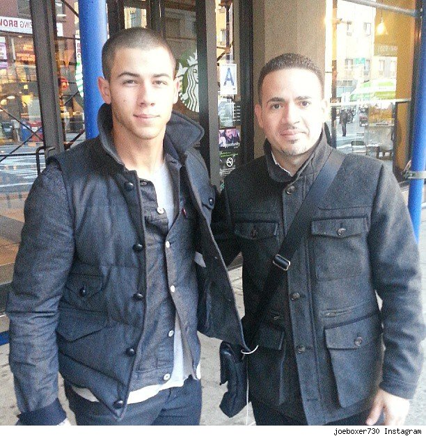 Nick Jonas buzz cut short hair shaved again