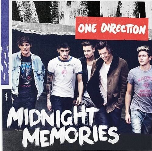 One Direction Midnight Memories tracklist album cover art