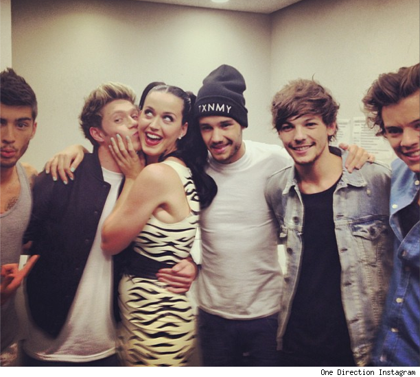 Niall Horan and Katy Perry kissing getting married wedding pic