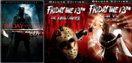 'Friday the 13th' (2009), 'Friday the 13th The Final Chapter,' 'Friday the 13th Part VI Jason Lives'